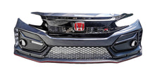Load image into Gallery viewer, Carbon Fiber Type-R Style Front Lip 2016+ Honda Civic