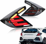 V1 FK7/FK8 LED TAIL LIGHTS ANIMATION 2017+ HONDA CIVIC HATCHBACK