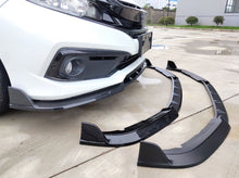 Load image into Gallery viewer, V4 STYLE PP FRONT BUMPER LIP 2016+ HONDA CIVIC