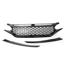 Load image into Gallery viewer, Mesh Style Front Bumper Grill 2016+ Honda Civic