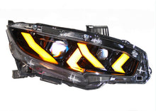 Load image into Gallery viewer, Lambo Style LED Animation Headlight 2016+ Honda Civic