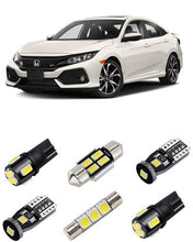 Load image into Gallery viewer, 6PCS Super Bright 6000K Interior LED Light Bulbs 2016+ Honda Civic