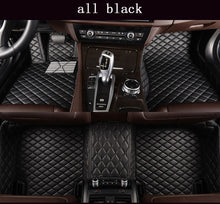 Load image into Gallery viewer, Custom Leather Diamond Car Floor Mats