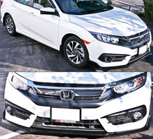 Load image into Gallery viewer, Type-R Style Front Bumper Lip 2016+ Honda Civic