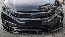 Load image into Gallery viewer, V4 Style Front Bumper Lip PU 2016+ Honda Civic