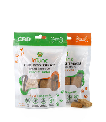 CBD Dog Treats by InTune CBD