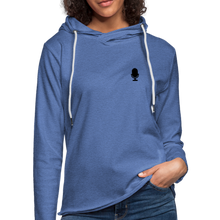 "Load image into Gallery viewer, Vet Pivot ""Civies"" Unisex Lightweight Terry Hoodie - heather Blue"