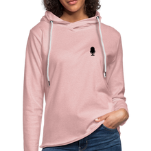 "Load image into Gallery viewer, Vet Pivot ""Civies"" Unisex Lightweight Terry Hoodie - cream heather pink"