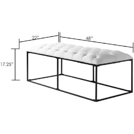 Accent And Storage Benches - Savoy SVY-001 Bench