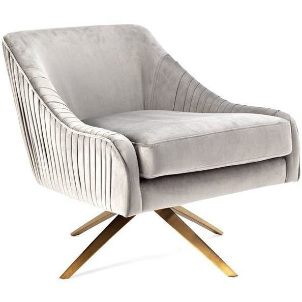 Accent Chairs - NK Waverly Velvet Chair