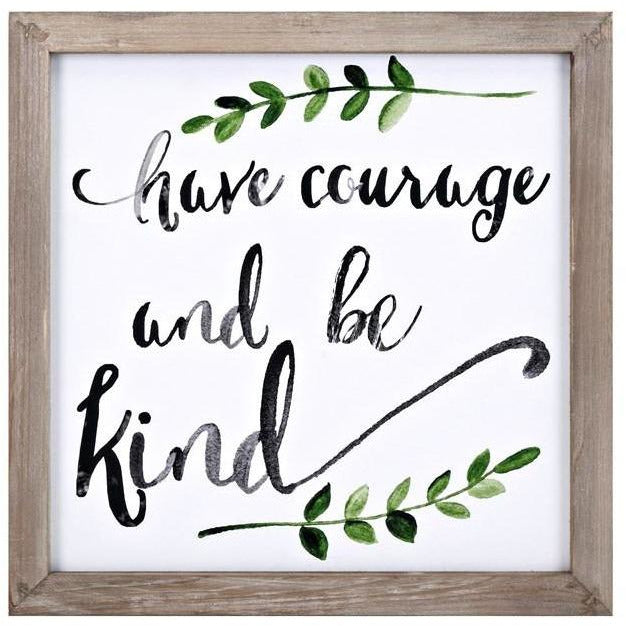 Artwork - Courage Wall Decor