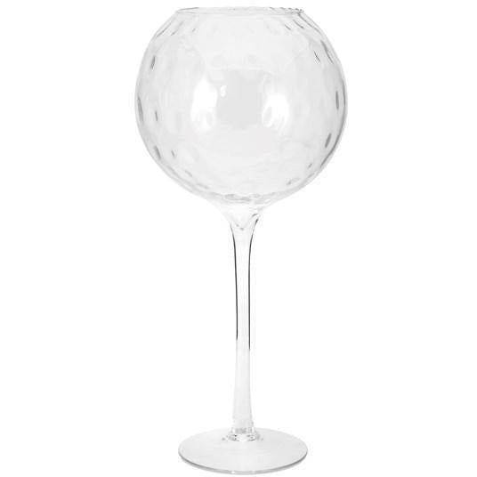 Bowls - NK Cambria Oversized Glass Decorative Bowl On Stand