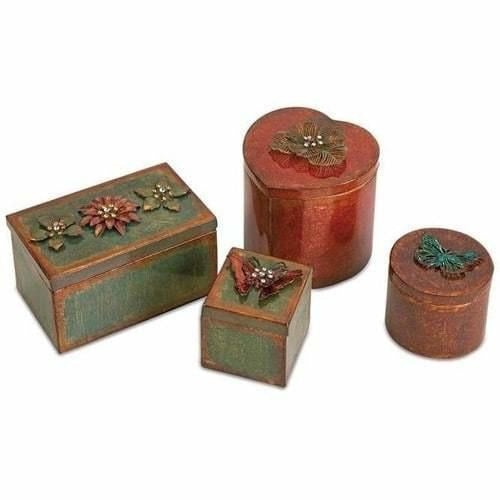 Boxes - Ellie Decorative Boxes - Set Of 4