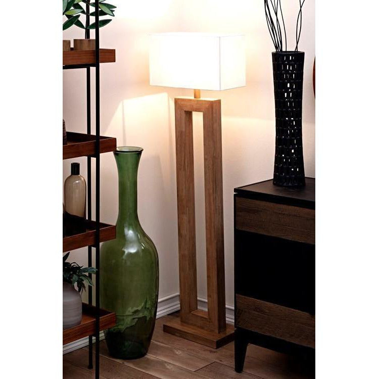 Floor Lamps - Modena Wood Floor Lamp