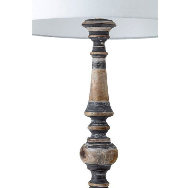 Floor Lamps - Nichole Wood Floor Lamp