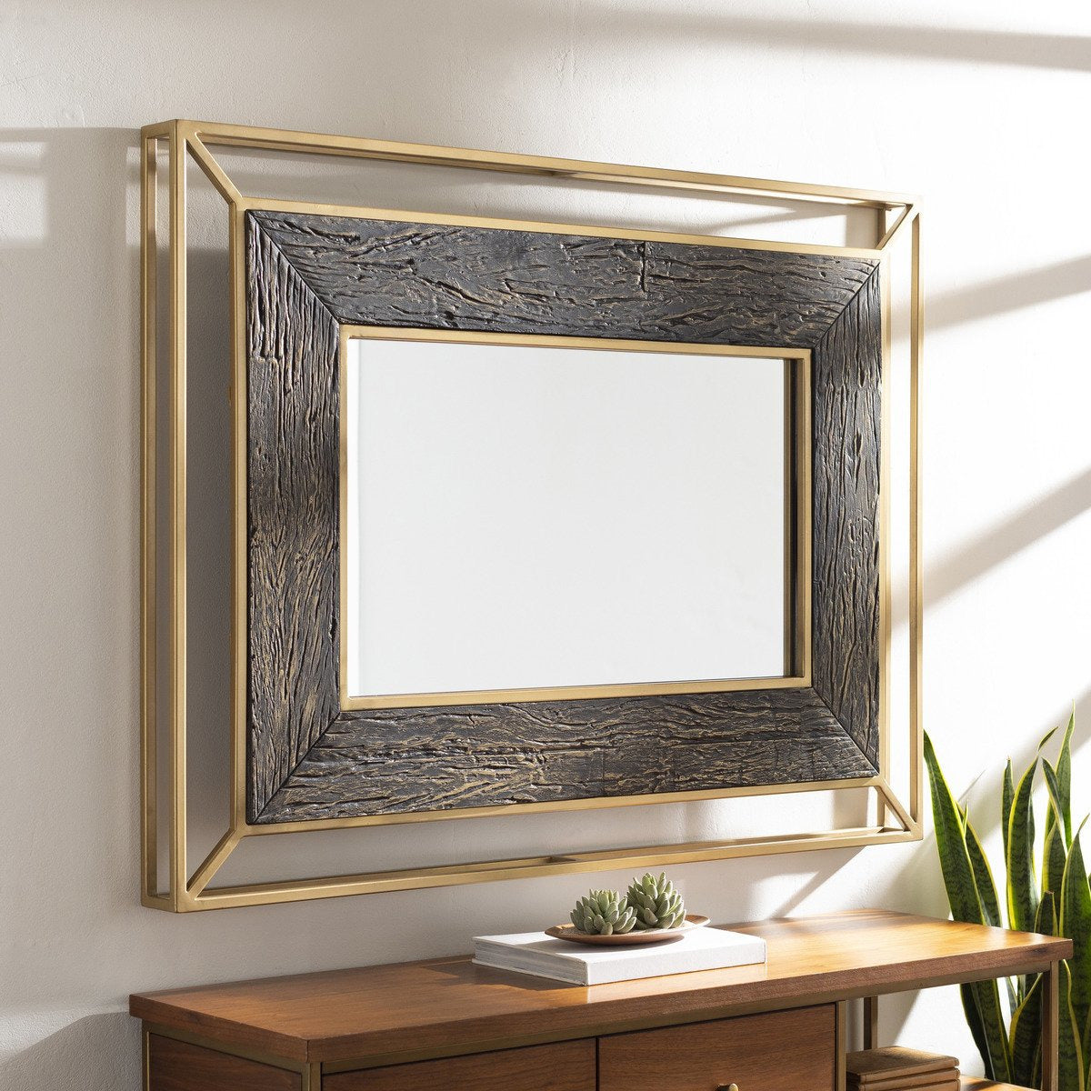 "Mirrors - Allure LLU-001 36"" X 48"" Mirror"