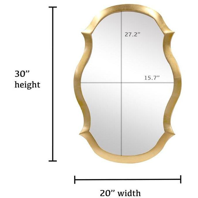 Mirrors - Elegance Shaped Wall Mirror