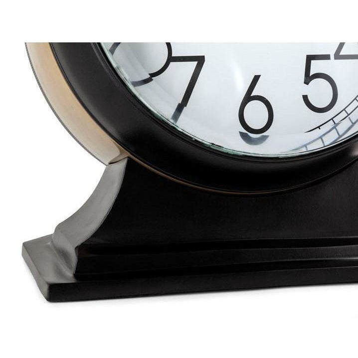 Table Clocks - TY Tribute Black And Gold Desk Clock