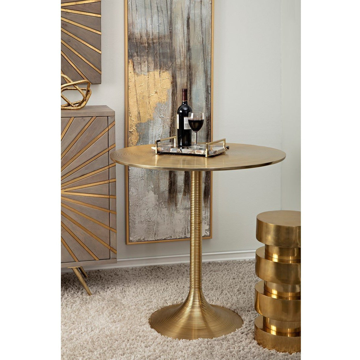 Tables, Accent Tables - NK Jason Pub Table
