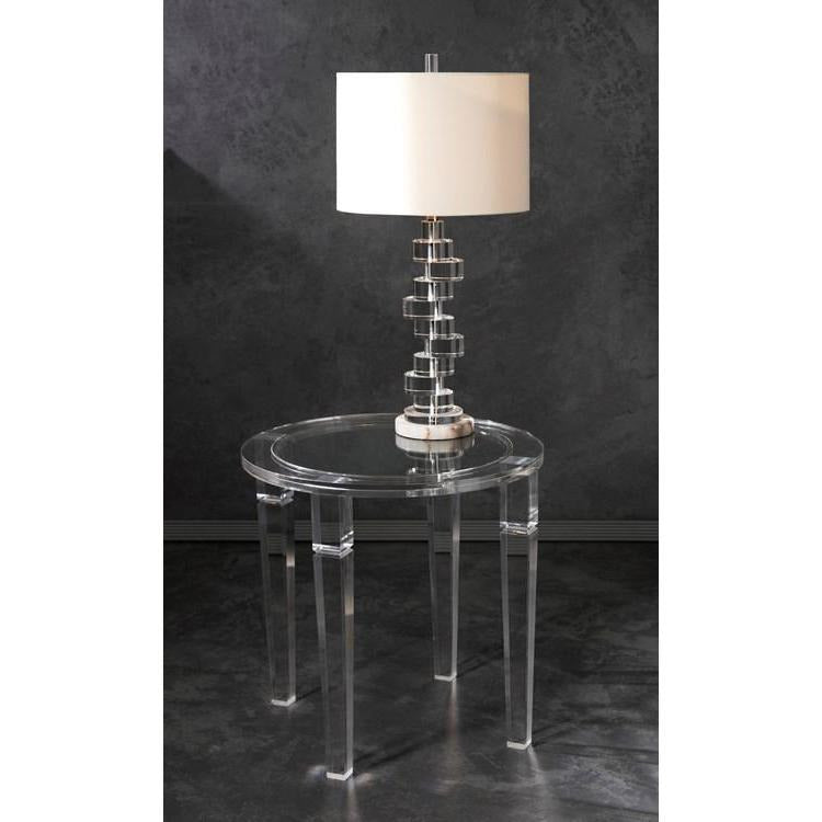 Tables, Accent Tables - NK Meza Acrylic Accent Table