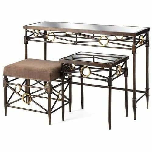 Tables - Clubhouse Table & Bench - Set Of 3