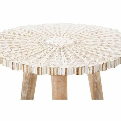 Tables - Inez Carved Accent Table