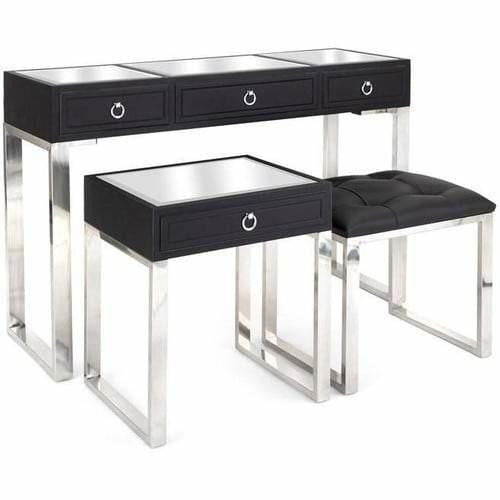 Tables - Mulligan Nested Tables And Bench - Set Of 3