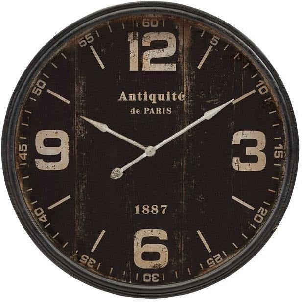 Wall Clocks - Robertson Black Wall Clock