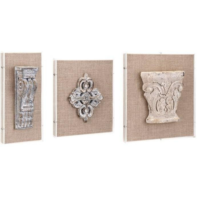 Wall Decor - Darby Wall Decor - Set Of 3
