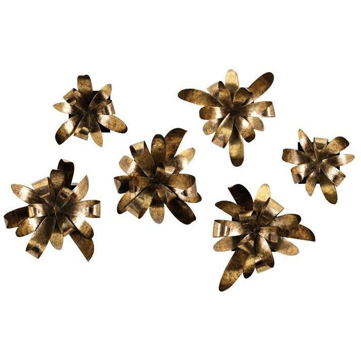 Wall Decor - NK Somerset Dimensional Wall Or Table Decor - Set Of 6