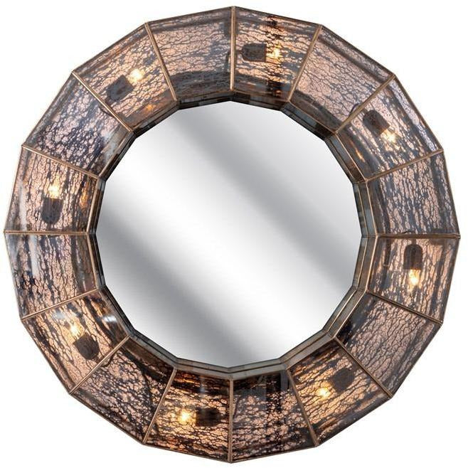 Wall Mirrors - Garbo Wall With Lights