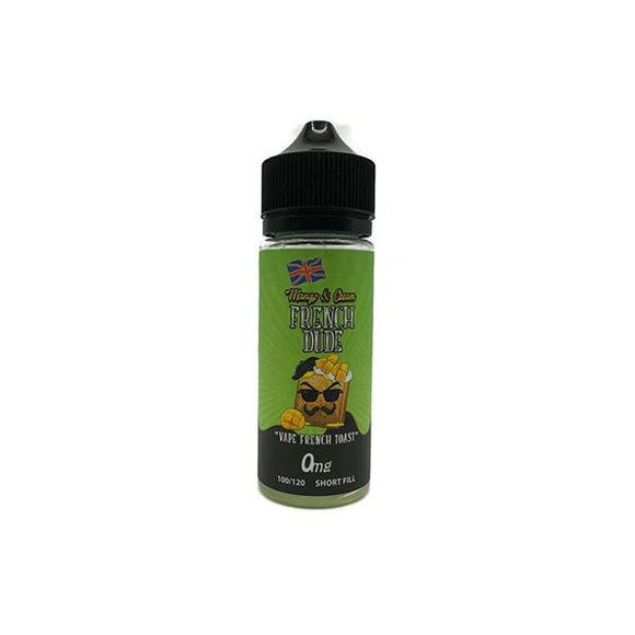 Mango & Cream French Dude 100ml Shortfill 0mg (70VG-30PG)