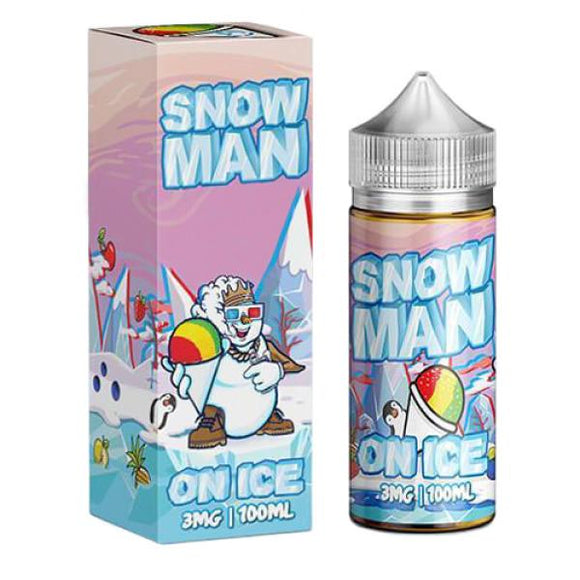 Snow Man On Ice by JuiceMan 0mg 100ml Shortfill (70VG-30PG) - www.vapein.co.uk