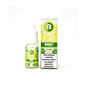 5mg Burst Nic Salts 10ml (50VG/50PG) - www.vapein.co.uk