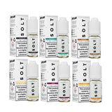 10MG SOLT 10ML Flavoured Nic Salts - www.vapein.co.uk
