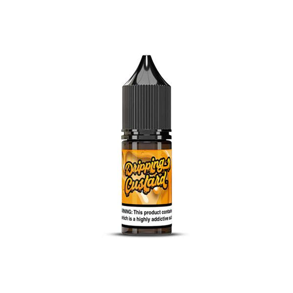 20MG Nic Salts by Dripping Custard (50VG-50PG) - www.vapein.co.uk
