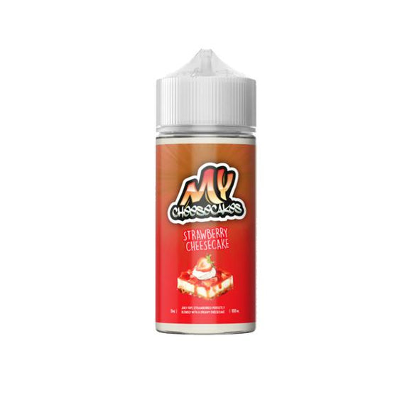My Cheesecakes 0mg 100ml Shortfill (70VG/30PG) - www.vapein.co.uk