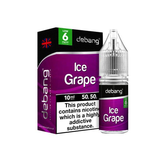 6mg Debang 10ml E-Liquid (50VG/50PG) - www.vapein.co.uk