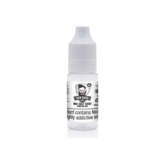 20mg Nic Salt Shot 10ml By Von Duke (50VG-50PG) - www.vapein.co.uk