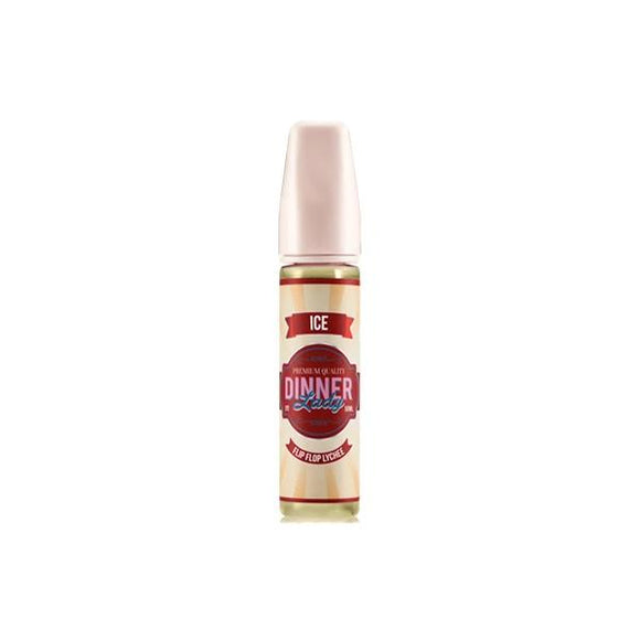 Dinner Lady ICE Range 0mg 50ml Shortfill (70VG/30PG) - www.vapein.co.uk