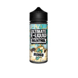 Ultimate E-liquid Menthol by Ultimate Puff 100ml Shortfill 0mg (70VG/30PG) - www.vapein.co.uk