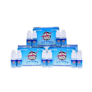 Ice Shot 0mg (Nicotine Free) 10ml by Pum Pum Juice (50VG-50PG) - www.vapein.co.uk