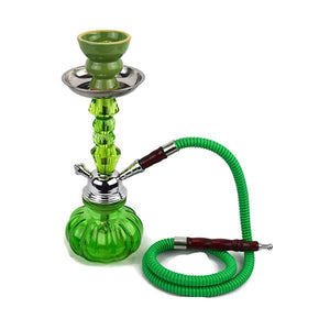 Small 1 Hose Shisha Hookah - Assorted Colours - www.vapein.co.uk