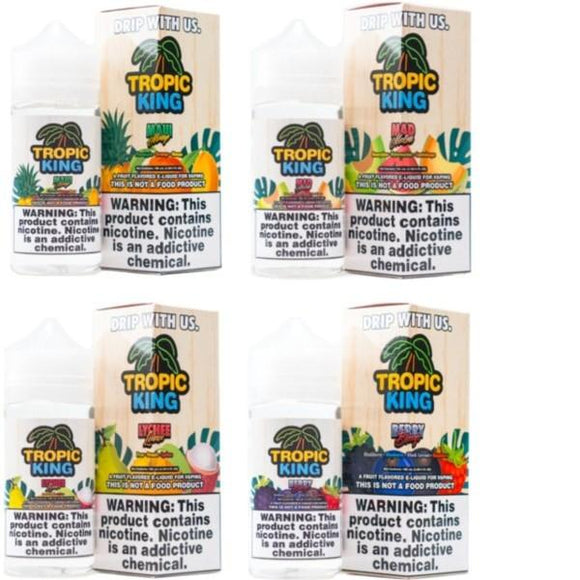 Tropic King 0mg 120ml Shortfill (70VG/30PG) - www.vapein.co.uk