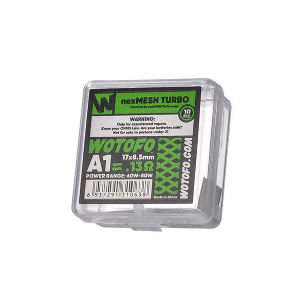 Wotofo NexMesh Mesh Strips 0.16ohms/ 0.15ohms/0.13ohms - www.vapein.co.uk