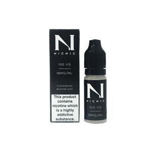 NIC NIC 18mg Nicotine Shot (100VG) 10ml - www.vapein.co.uk