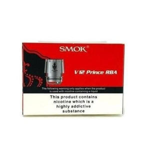 Smok V12 Prince RBA Deck Kit - www.vapein.co.uk