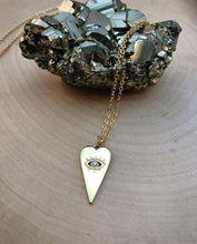 Load image into Gallery viewer, EYE HEART GOLD | NECKLACE