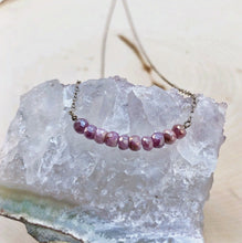 Load image into Gallery viewer, PINK SAPPHIRE | NECKLACE