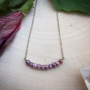 PINK SAPPHIRE | NECKLACE
